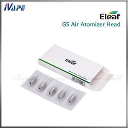 Wholesale Eleaf iSmoka GS Air Dual Coils GSAir Replacement Dual Coils ohm Work With W for Eleaf GSAir GS Air Tank Authentic