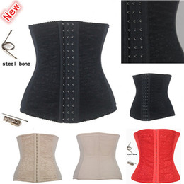 Wholesale Sexy Upgrade Shapewear Women Full Steel Boned Waist Training Corset Underbust Bustier Colors Size XS XL