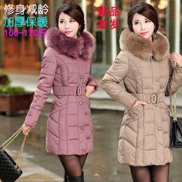 Wholesale Winter Jacket Women Winter Coat Women Parkas Luxury Fur Coat Plus size Cotton Padded Down Coats Women Wadded Jackets