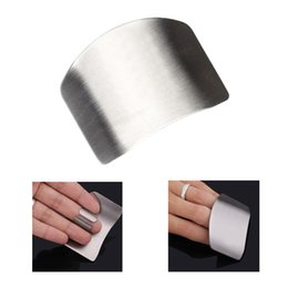 Wholesale High Quality Stainless Steel Cooking Tools Hand Finger Guard Fingers Protection Cutting Kitchen Accessories Protector Gadgets H14857