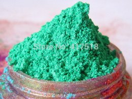 Wholesale Mint Green Pearl Pigment Fine Mica Powder YZ709