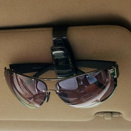 Hot sale Car Sunglasses Clip Automotive Glasses Clip Vehicle-Mounted Glasses Holder Vehicle Bill Fold free shipping