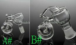 Promotion seaux de miel 2,015 nouvelle femelle / mâle Quartz Seaux 18mm verre verre de 14.4mm conjointe conjointe pivotant Banger Nail