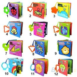 Infant Baby Kid Girl Boy Child intelligence Educational development Cloth Book Cognize Soft Book Funny Toy 00O2