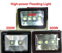 Wholesale LED flood light W W W AC85 V waterproof IP65 Floodlight Spotlight Astigmatism High Power Led chip Outdoor Lighting Free ship