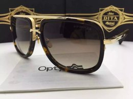 Wholesale 2015 Fashion DITA MACH ONE Sunglasses Glasses Eyeglass Eyewear With Case