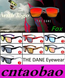 Wholesale 2016 New fashion hot sale Brand Designer Mens outdoor sport Sunglasses The DANE F O X sunglasses MOQ