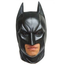 Wholesale Scary Mask Deluxe - Latex Scary mask Costume Halloween Deluxe Batman Party masks