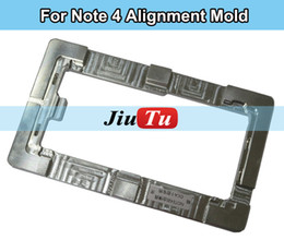 Wholesale 1 LCD Screen Mold Aluminium Alloy Mould for Samsung Note Repair Tool Precision Alignment Metal Mold