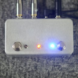 Wholesale TTONE Hand made ABY Guitar pedal Switch Box A B combiner Footswitch TRUE BYPASS Amp guitar AB