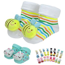 Lovely Cartoon Baby Socks Anti Slip Cotton With Animal Unisex Slipper Shoes Newborn 0-6 Months