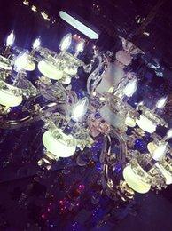 Wholesale Factory direct sale western style LED crystal lamp zinc base alloy jade LED lamp cup K9 quartz lamp