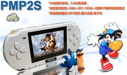 Wholesale HOT sell GB inches PMP handheld game player MP3 MP4 MP5 player video camera ebook portable game consoles PMP S pocket consoles