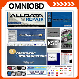Wholesale Newest Alldata Repair Software v10 Mitchell on demand moto heavy truck KSD in1 TB HDD for all cars and trucks