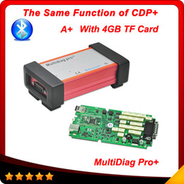 Wholesale 2015 Top selling Multidiag pro A qulity tcs cdp with bluetooth version with GB TF card carton box