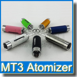 MT3 Atomizer 2.4ml eVod BCC MT3 Electronic Cigarette Rebuildable Bottom Coil Clearomizer Tank for EGO EVOD Battery E Cigarette