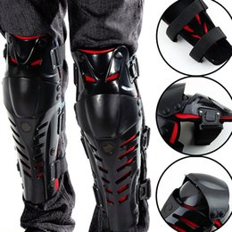 Wholesale Adults Fashion Motorcyle Knee Pad Shin Armor Protector Guard Pads Accessories with Plastic Cement Hook for Motorcycle Motocross Racing