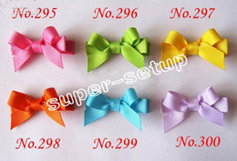 Wholesale 20pcs Adorable Tiny baby Clip simple newborn baby Hair Clip Infant Mini itty bitty Hair Bow FJ3212