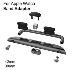 For Apple Watch 38mm 42mm Convenient Metal Watch Band Adapter Exclusively Designed For Apple Watch Sport Editionapple watch connector