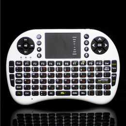 Wholesale G Mini Wireless QWERTY Keyboard Air Mouse Combo Russian English for PC Notebook Android Tv Box Wireless Keyboard Touchpad