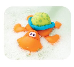 Wholesale Playgro baby toy small turtles bath toy baby puppet tape waterproof