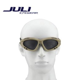 New 2015 CS Protective Eyewear Glasses Tactical Equipment Impact Resistant Network Rail Safety Goggles MA2C