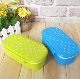 Wholesale Bento Creative High Heat Resistance Plastic Bento Lunch Box Food Container Microwave Children Lunch Box