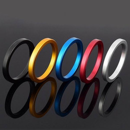 New Design Metal Aluminum Penis Rings Male Delay ring Delayed Ejaculation Adult Products Casing Delay Lock Loops Cock rings Sex Rings A049