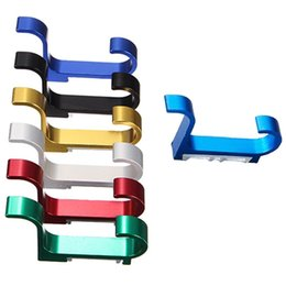 Wholesale Top Quality Colorful Space Aluminum Double Hanger Hooks For Bedroom Kitchen Balcony Fit For Decoration
