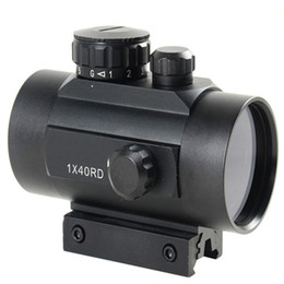 Wholesale Red Green Dot Holographic Tactical Laser Sight Scope Rifle Picatinny Rail Mount VE050