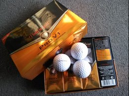 Wholesale factory brand golf ball PRO V1 golden new freeshipping