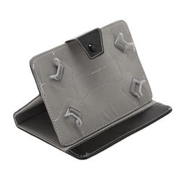 Soportar pulgadas en Línea-iRULU tableta de 7 pulgadas cubierta del cuero del caso del soporte de la PC de 7 pulgadas MID Para phablet caso del soporte de 7 pulgadas 3G para Tablet PC