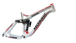 Wholesale Latest MOSSO suspension frame FR2 damping soft tail frame of the bicycle frame to send HEADSET