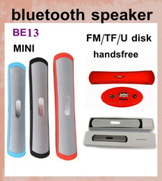 bluetooth speakers subwoofer BE13 wireless speaker cylinder mini bluetooth speaker for cell phone mp3 player PC music outdoor speaker MIS031