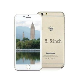 Wholesale i6s Plus I6s inch MTK6582 Quad Core HD MP Dual camera Show G GB Show G Lte G New Android Unlocked Smart Phone