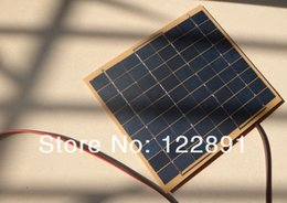 Wholesale High Quality Watt W V Solar Panel Solar Cell Watt For Volt Garden Fountain Pond Battery Charger