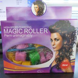 Wholesale 18pcs DIY Amazing Magic Leverag Hair Curlers Curlformers Hair Snail Roller Hair Styling Tools