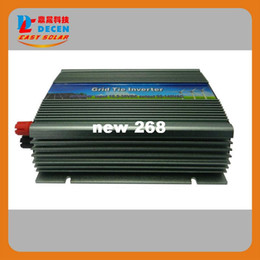 Wholesale DECEN Vdc W Pure Sine Wave Solar Grid Tier Inverter Output Vac power inverter For Home Solar System