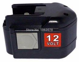 Wholesale 12 V mAh Ni MH Power Tools Battery for AEG BEST X Super BS X BS2E T BSB STX SB2E STX for MILWAUKEE Series