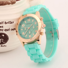 New Fashion Casual Geneva Silicone Quartz Watch Ladies Jelly Sport wristwatch,Woman dress watches relojes mujer
