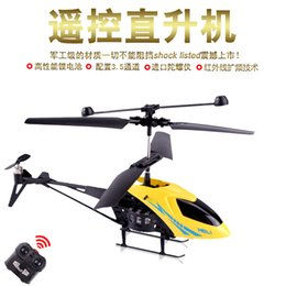Wholesale Kai channel remote control helicopter air model plastic resistance to the king s electric remote control aircraft
