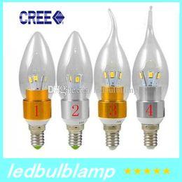 E27 ce smd à vendre-E27 5W E14 conduit ampoules bougie lumière 360 angle 6 Leds SMD 5730 haute lumineux chaud / cool blanc conduit lumières lampe AC110-240V CE ROHS