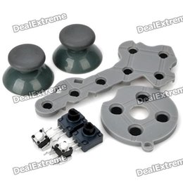 Wholesale Repair Parts Replacement Kits for XBox Controller Grey