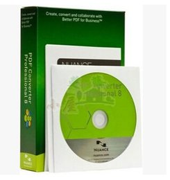 Wholesale PDF editing conversion software Nuance ScanSoft PDF Converter Pro v8