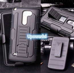 Wholesale mobile phone holster robot case Rugged Hybrid Impact Holster Hard Case Stand Cover For LG G3 holster case