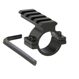 10pcs Tactical Hunting 25.4mm 1'' Rifle Scope Ring Mount 20mm Rail For Rifle Flashlight Laser