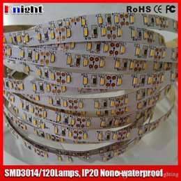 wholesale smd 3014 led strip light 12v 120lamps m ,waterproof 3014 led strip 600,100M A LOT