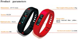 Wholesale Hot Selling Fitbit Flex Bluetooth Wristband Sport Sleep Fitness Tracker Pedometer Counter Calorie Pebble Fuel band For Android Smart Watch