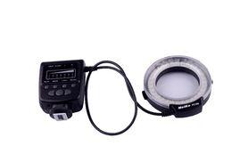 Meike flash de la cámara en venta-La luz macro del flash del anillo de Meike FC100 LED para la cámara DSLR de Canon 650D 7D 5DII 60D 50D libera el envío