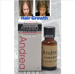 Wholesale 100 Original Andrea Hair Growth Essence Hair Loss Liquid ml dense hair care products treatment